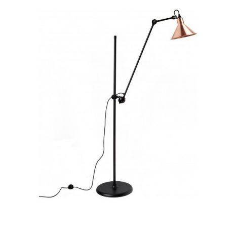 Lampe gras 215 zwart- koper