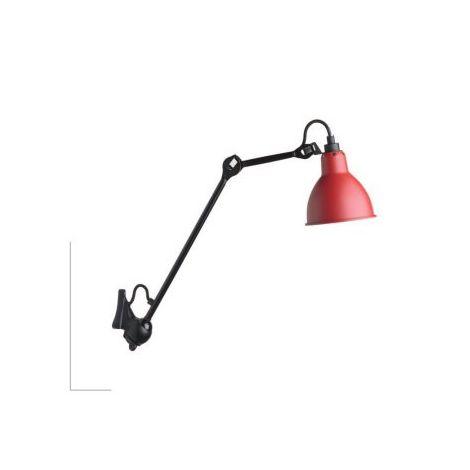 La Lampe Gras 222 zwart rood