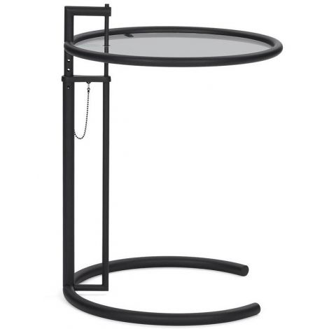 ClassiCon Adjustable Table Black Version met rookglas