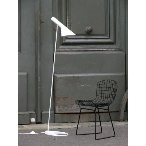 Louis Poulsen AJ vloerlamp Wit sfeerbeeld
