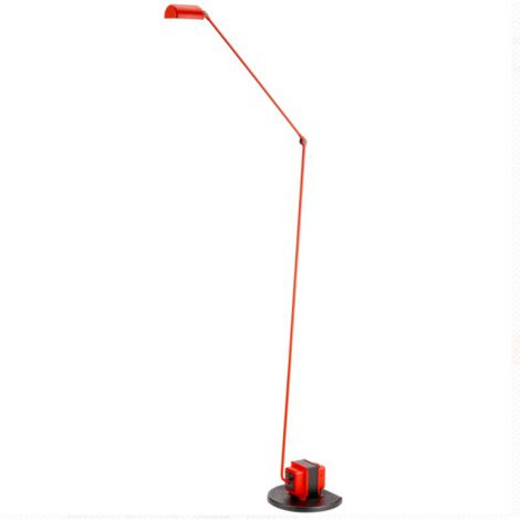 Lumina Daphine LED vloerlamp matt red