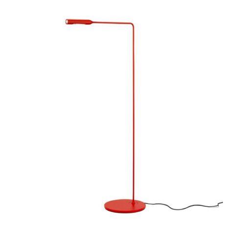Lumina Flo vloerlamp rood