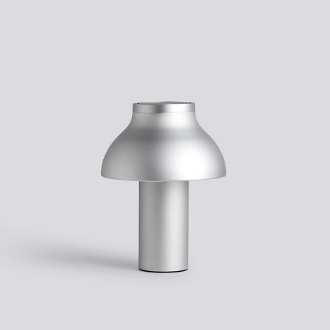 HAY PC Table Lamp S geadoniseerd aluminium