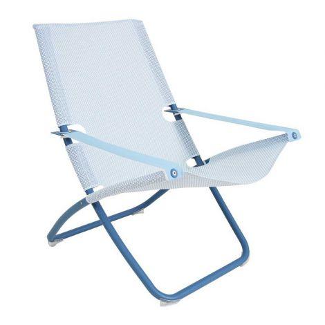 EMU Snooze loungestoel / Blauw / lichtblauw-wit