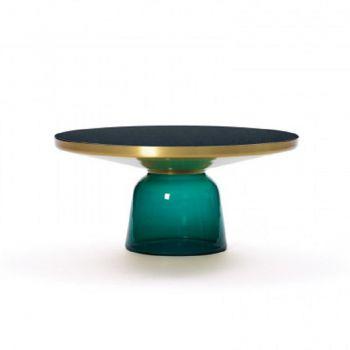 Bell Salontafel - Groen / Messing