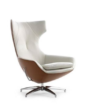 Leolux fauteuil Caruzzo / onderstel Original