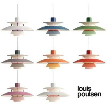 Louis Poulsen PH5 mini kleuren